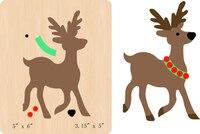 New deer Wooden die Scrapbooking D 285 Cutting Dies