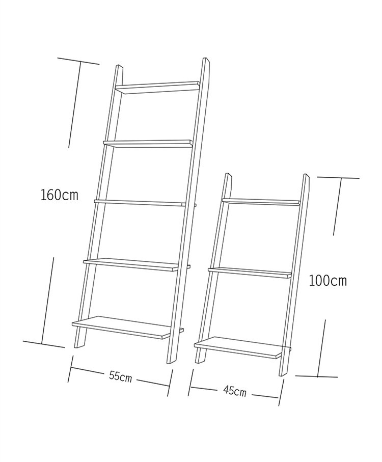 Floor plant stand solid wood ladders books shelf wall organizer kitchen storage living room shelves for wall bathroom racks in Storage Holders Racks from Home Garden