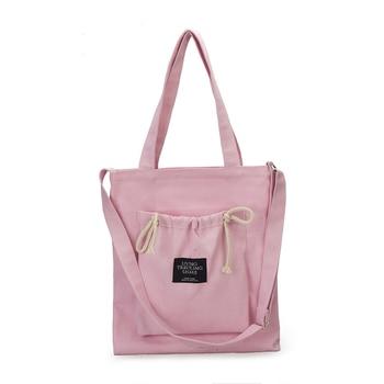 67c532b23 2019 Eco bolsas de compras reutilizables tela de embalaje bolsa reciclable  alta diseño Simple saludable bolso moda