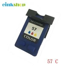 Remanufactured Ink Cartridge For HP 57 Tri-Color for hp OfficeJet 4215 6110 PhotoSmart 7260 7760 Deskjet 450 5850 Free shipping t2 ic h6657 картридж для hp deskjet 450 5150 9650 photosmart 7150 7550 officejet 6110 57 цветной
