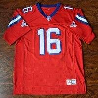 MM MASMIG Shane Falco #16 Football Jersey Stitched Red The Replacements S M L XL XXL XXXL 4XL