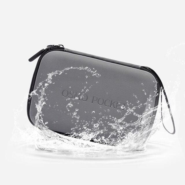 Dla DJI Osmo Pocket Gimbal akcesoria wodoodporna torba etui ochronne ze skóry pu osłona przeciwwodna na kamera kardanowa