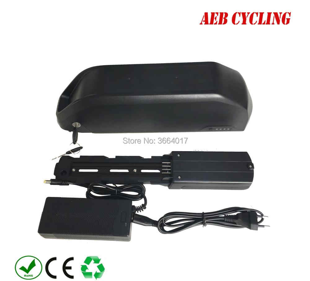 EU US free shipping and taxes 250W 350W 500W 750W 1000W 36V 48V 52V 15Ah 16Ah, 17Ah 20Ah 24.5Ah down tube ebike battery