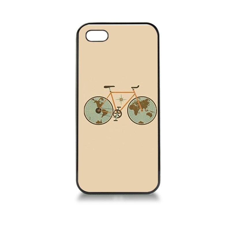 Silicone case accesorios del teléfono cala para case 5S colorido bicicleta de go