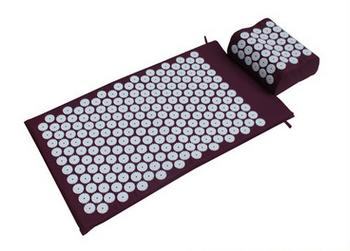 Acupressure Spike Yoga Pillow Mat Relieve Stress Pain Relief Acupuncture Cushion Neck Back Shakti Massager Body Relax acupressure spike yoga pillow mat relief health care shakti massager relaxation neck back pain treatment