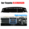 Car dashboard cover mat for TOYOTA Fj CRUISER all the years Right hand drive dashmat pad dash covers dashboard accessories