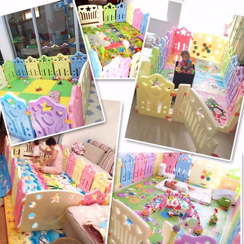 Bébé parcs enfants Place clôture enfants activité équipement Protection de l'environnement EP sécurité jouer cour intérieur extérieur