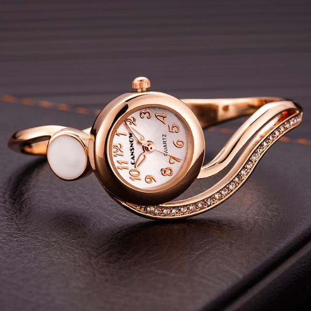 Las mujeres relojes de lujo 2021 pulsera de reloj de oro/plata Dial pequeño Dial vestido cuarzo reloj de pulsera de regalo para las mujeres, reloj de mujer 4