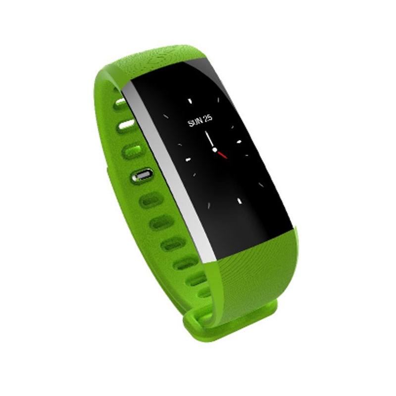 HEINO Bluetooth colourful Touch Screen Smartband Blood Pressure Smart Wristband USB Charging Sport Bracelet Fitness Tracker R19
