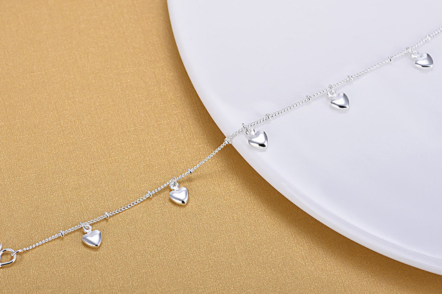 Фото модный женский очаровательный браслет с сердцем для женщин из цена
