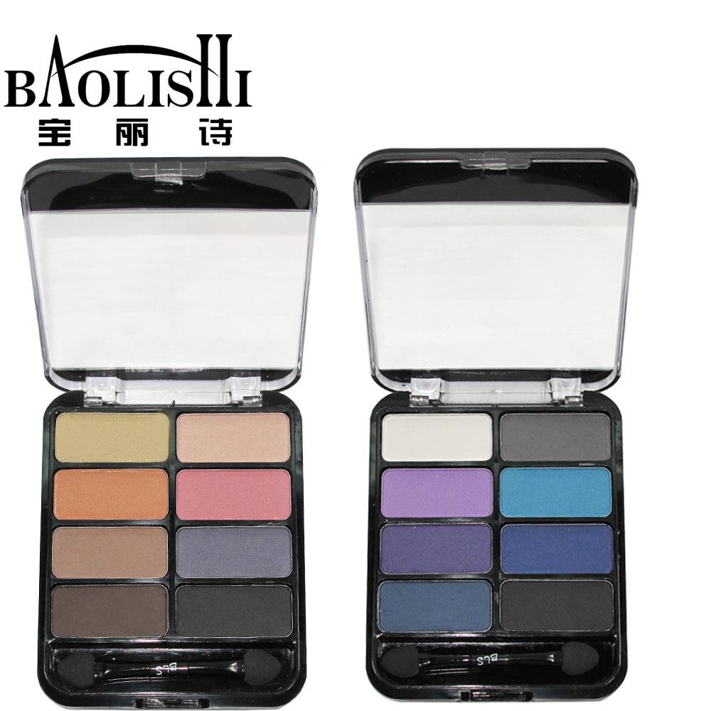 baolishi keyfiyyətli peşəkar 8colors Çılpaq göz kölgəsi - Makiyaj - Fotoqrafiya 5