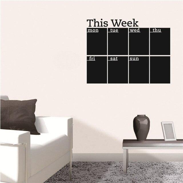 Tafel Tapete neue tafel wandaufkleber abnehmbare vinyl tafel tapete home office