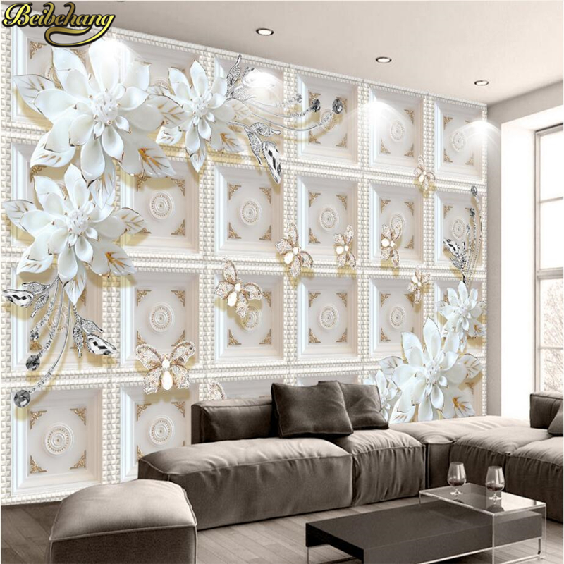 beibehang Custom photo wallpaper murals three-dimensional relief jewelry flowers European 3D background wall paintings Herbal Products cb5feb1b7314637725a2e7: 16303742|17131038|23106460|23108703|23118926