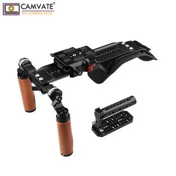 CAMVATE Shoulder Rig Handle Kit For URSA Mini C1892 camera photography accessories