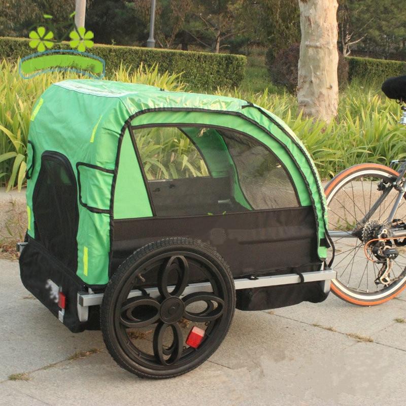 2 kinder/Kind Fahrrad Schlepptau Hinter Anhänger, Baby Kinderwagen ...