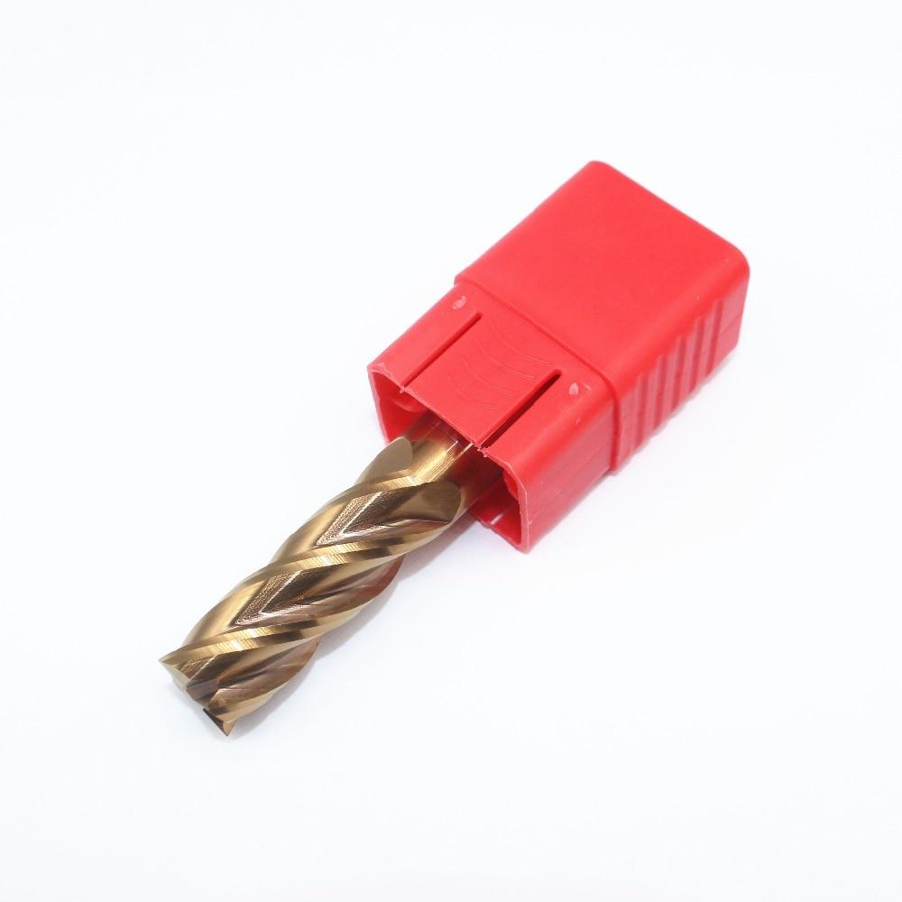 1PCS 16mm Solid Carbide Coated Flat End Mill HRC55 4F 50mm Standard Length CNC Lathe Milling Tool собрание сочинений в одной книге page 9