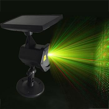 Solar Power LED Laser Projector Chrismas Laser Fairy Lights Projection Waterproof Outdoor Spotlight Garden Yard Party Decor Lamp 1