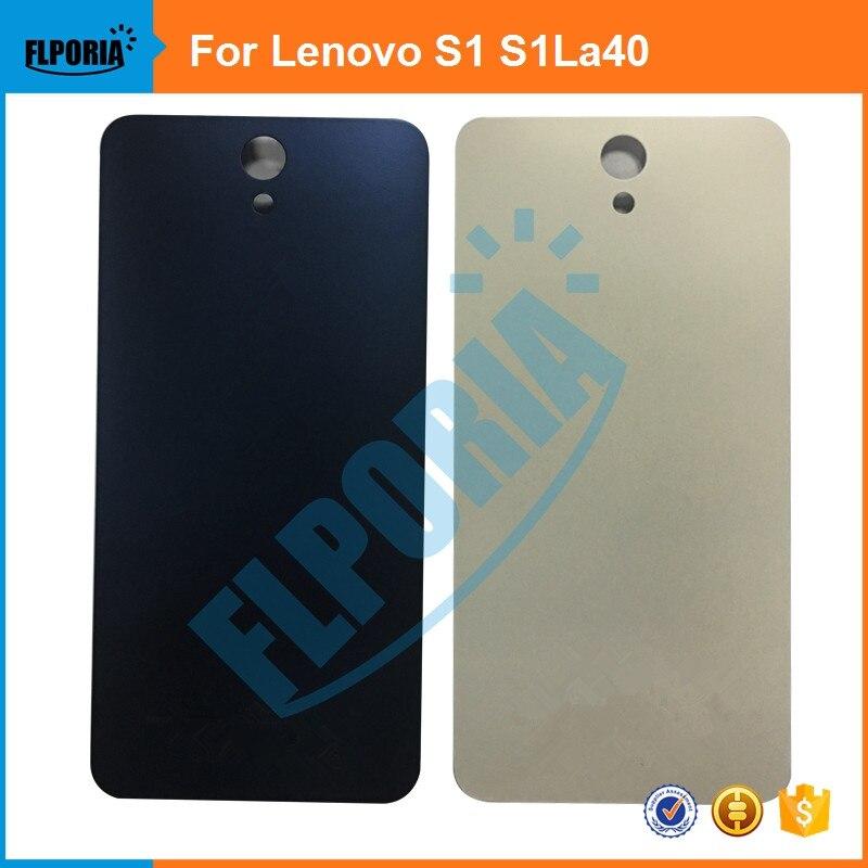 FLPORIA 1PCS New Plastic Battery Back Cover For Lenovo S1 S1La40 Housing Door Case Replacement Parts