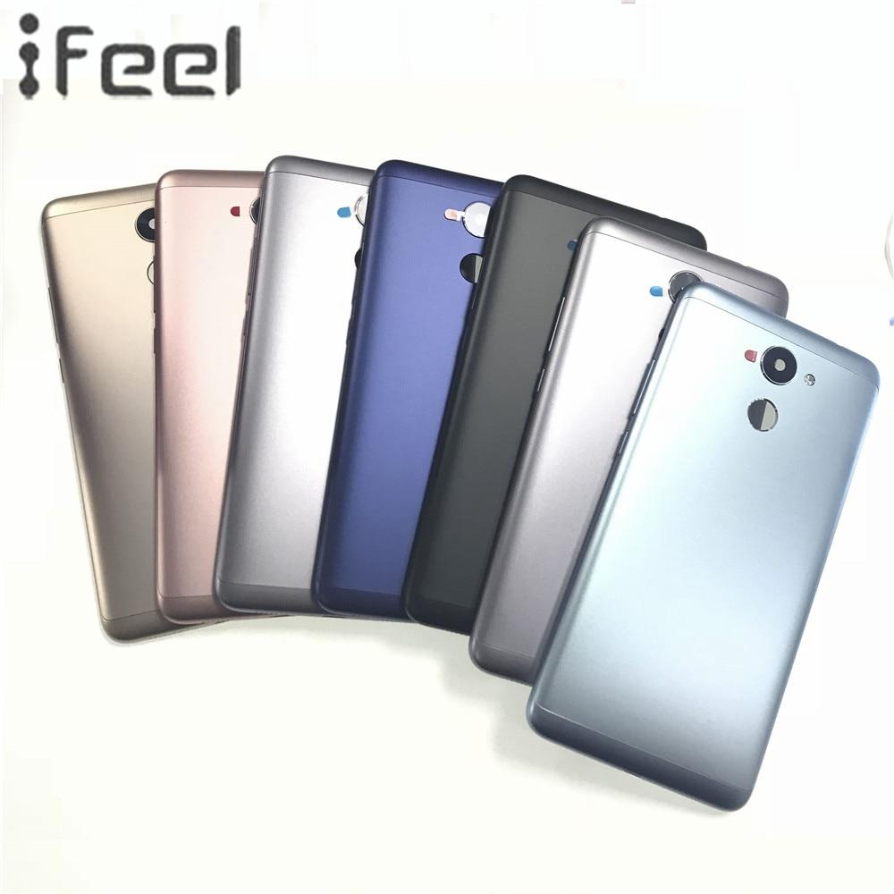 Ifeel для Huawei наслаждаться 7 плюс оригинальный сзади Батарея двери обложка + боковые кнопки + Камера Стекло Замена объектива Узлы и агрегаты дл...
