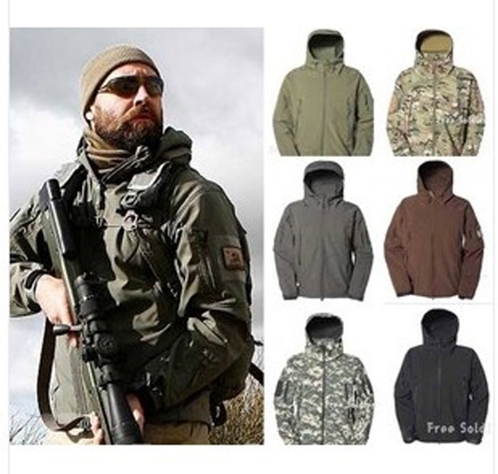 Aliexpress.com : Buy SWAT Airsoft Parka Jacket Waterproof Camo ...