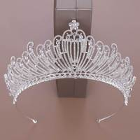 Crystal Crown Head Jewelry Wedding Princess Hairband Bride's Wedding Headdress Tiaras And Crowns Hair Ornaments Queen Crowns