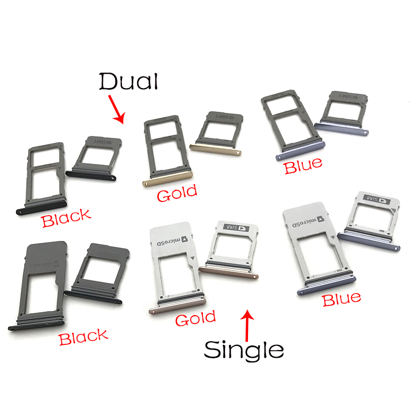 Micro Nano SIM Card Holder Tray Slot Holder Adapter Socket  For Samsung Galaxy A8 2018 A530