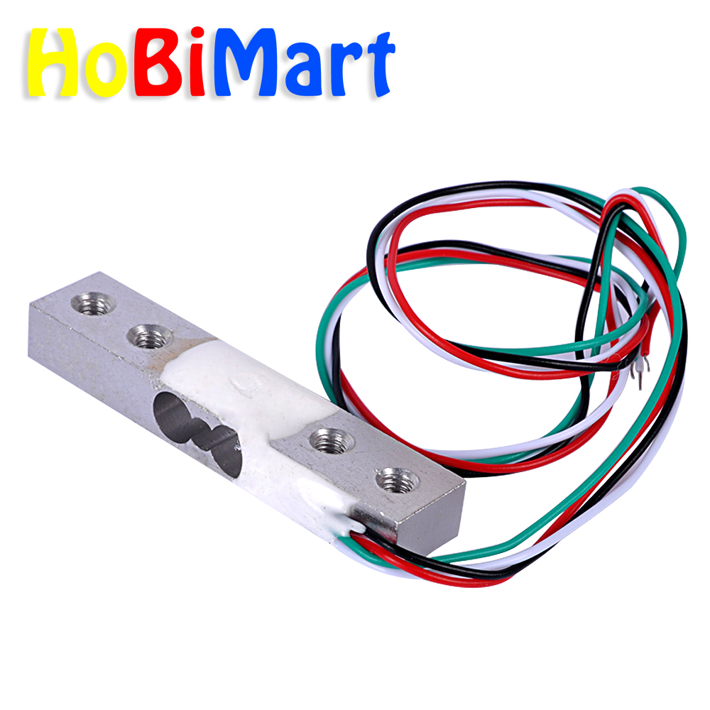 Hobimart 5x Capacity Platform Hopper 750g Electronic Scale Home Wiring Aluminum Alloy Weighing Sensor Load Cell Digital F02187