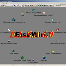 Авто данные ELSAwin 6,0 информация об электронном обслуживании для A. udi V.W S. KODA S. EAT автосервис Руководство 80GB HDD Elsa V.W 6,0
