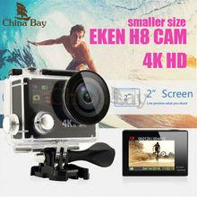 """Original Eken H8R H8 Ultra HD Cámara de la Acción con 4 K 30FPS resolución y 30 m waterporoof 2.0 """"Screen cam ir Cámara del deporte profesional yi"""