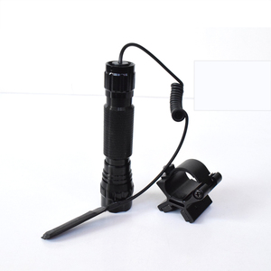 Image 5 - One Mode 3800Lm XML T6 LED Tactical Flashlight 18650 Torch Light linternas For Outdoor Hunting + Magnetic X Gun Mount Holder
