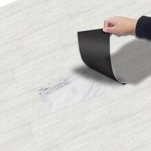 Толстый самоклеящийся пол волокно древесины стикер виниловые обои художественная наклейка Водонепроницаемая 3d Наклейка на стену для ванной кухни