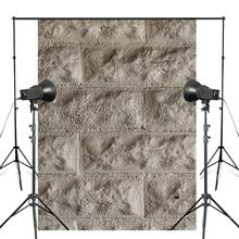 5x7ft Abstract Brick Texture Photography Backdrops Gray Stone Backdrop Art Photo Studio Photography Background Wall цены