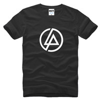 Lincoln Linkin Park Rock Printed Men S T Shirt T Shirt For Men 2015 Short Sleeve