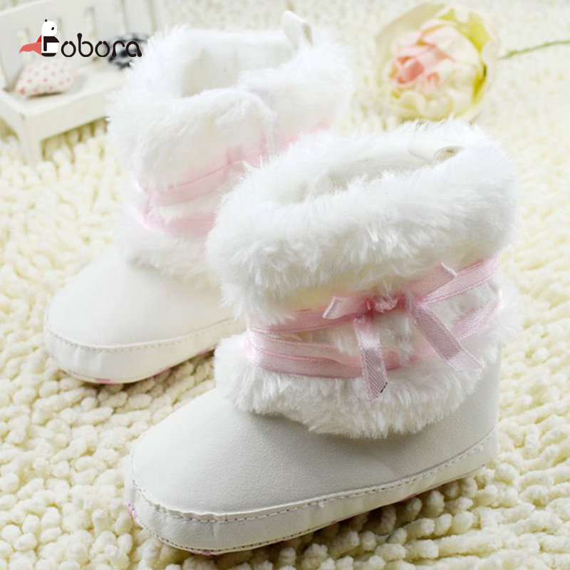 Autumn Brand Toddler Velvet High First Walkers Baby Boy Girl Shoes Sneakers Moccasins Boots Hot Sapato Menina