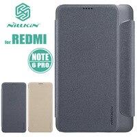 Xiaomi Redmi Note 6 Pro Case NILLKIN Sparkle Luxury Flip Leather Case Cover Phone Case for Xiaomi Redmi Note 6 Pro Nilkin Capa