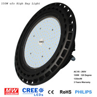 Factory best price 135 Lmw/w Meanwell Lumileds LEDs IP65 waterproof 150W 160W high bay LED industrial light