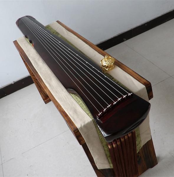 2019 arbitraje paulownia guqindestacados envío Paulownia Fuxi Guqin estilo, principiantes preferidos, instrumentos populares chinos