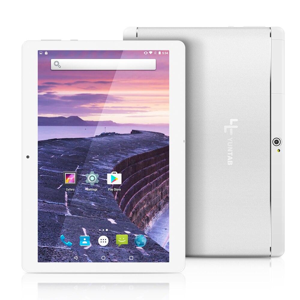 K17 Yuntab 3g Tablet PC Android 5.1 Quad-Core Aleación Phablet con cámara dual 0