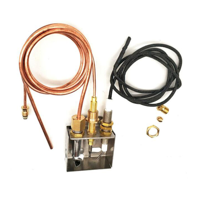 Propane Gas Fire Pit Heater Replacement Parts Flame Pilot Burner Assembly KitPropane Gas Fire Pit Heater Replacement Parts Flame Pilot Burner Assembly Kit