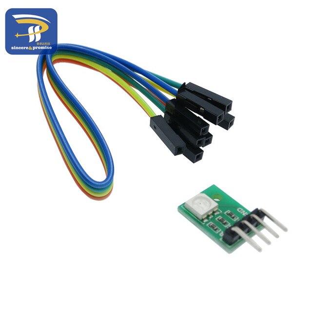 DIY Kit 5050 SMD RGB LED Diodes module Full Color Tri color Breakout ...