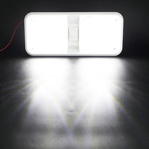 Image 3 - 28.5 سنتيمتر 12 فولت LED قافلة أضواء الداخلية RV القافلة المتنقلة مصباح المحرك اكسسوارات المنزل قبة ضوء مع التبديل
