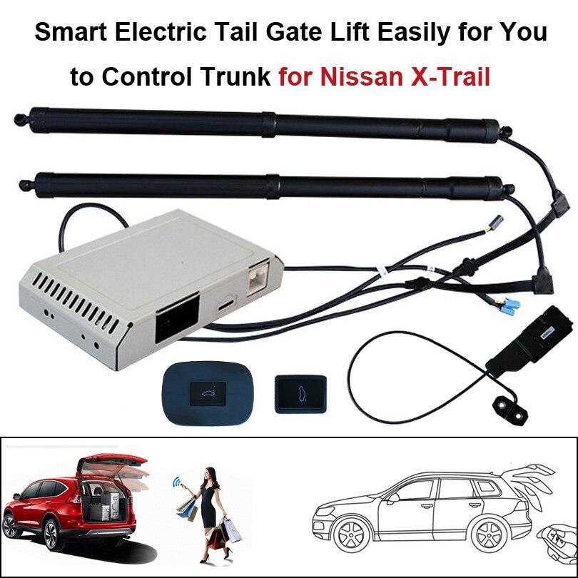 Smart Auto Elétrica Elevador Porta Traseira para Nissan X trail-Conjunto de Controle de Altura Evitar Pitada Com Trava