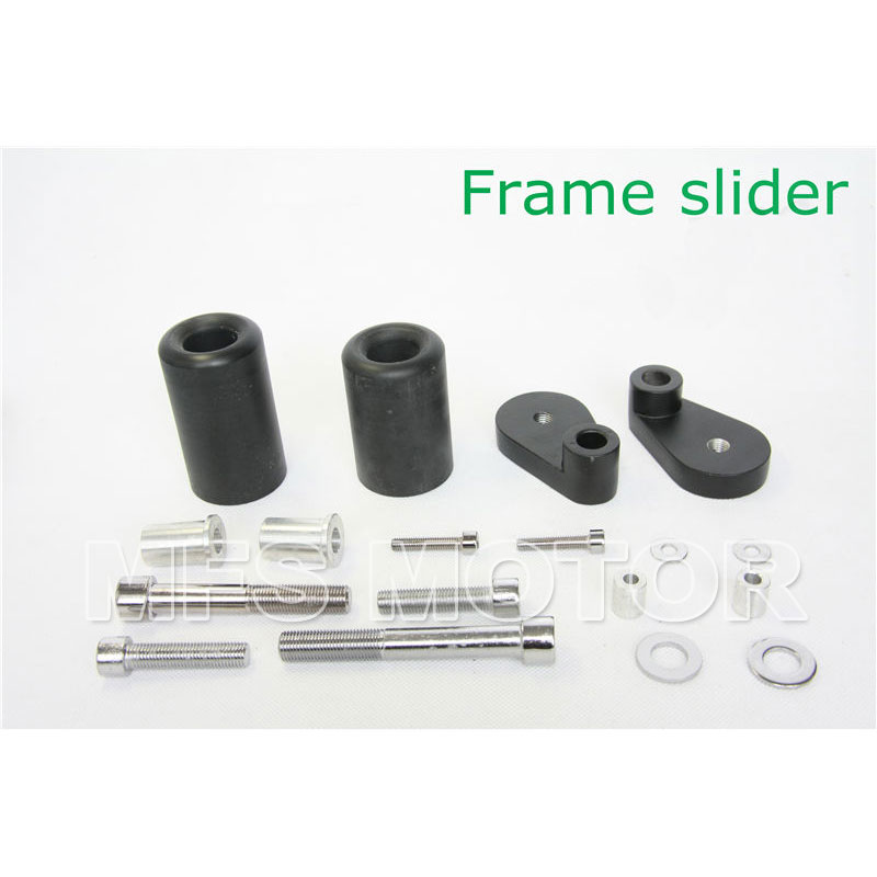 motorcycle parts No Cut Frame Slider Crash Protector For Honda CBR 1000RR 1000 RR 2006 2007 Black