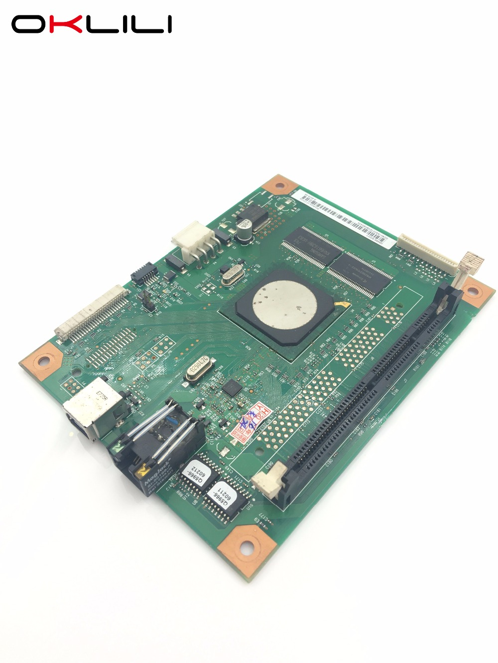 Q5966-60001 FORMATTER PCA ASSY Formatter Board Network logic Main Mother Board MainBoard for HP CLJ 2605 2605N 2605dn 2605dtn ce832 60001 mainboard main board for hp laserjet m1213 m1212 m1213nf m1212nf 1213 1212 printer formatter board