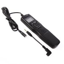 Timer remote control shutter con s1 cavo per sony a900 a850 a700 a550 a350 a200 a100 a77 a35