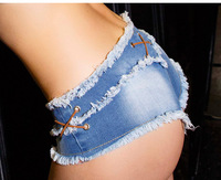In The Summer Of 2017 Low Rise Jeans Sexy Female Hottie Thin Shorts Freeshipping