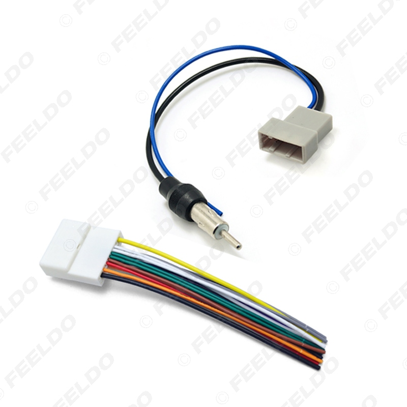 car cd audio stereo wiring harness antenna adapter for nissan 9 9 rh 9 9 derma lift de