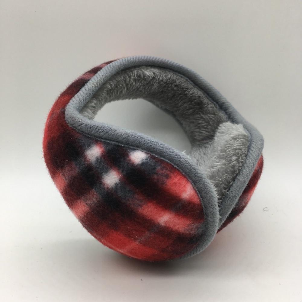 2017 Winter Warm Earmuffs Polar Fleece Plain Adjustable  Men And Women  Fashion Earmuffs