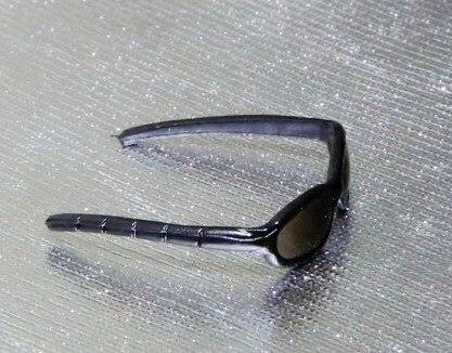 """1/6 масштаб солнцезащитные очки для 12 """" действие рис для кукол реквизит модель, Только продать очки, Куклы и другие не включают"""