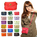 New  Fashion Women's Cute Wallets Crossbody Retro Small Bags Solid PU Leather Bag  LT88